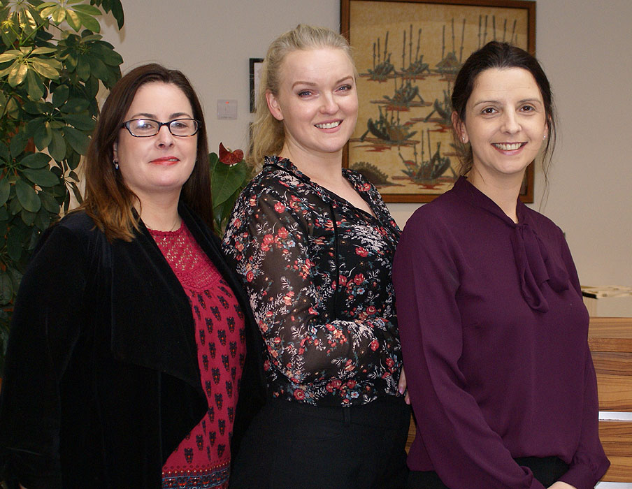 Ms Olivia Hynes, Ms Catriona Mahon, Ms Patricia Kelly