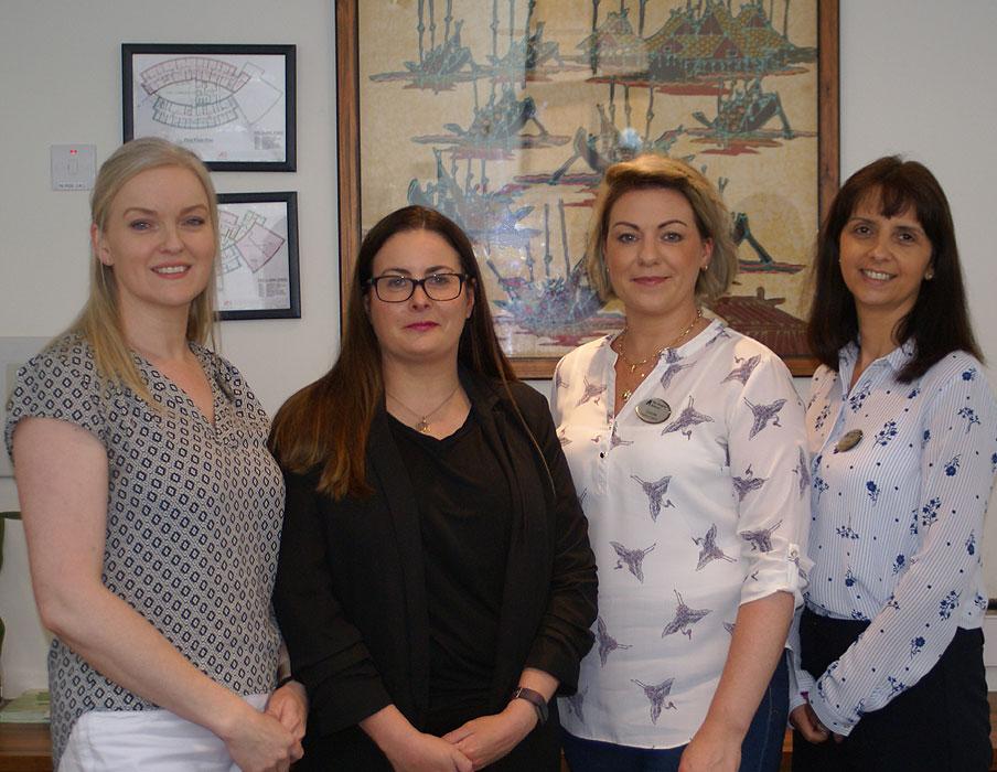 From left: Catriona Mahon, Olivia Hynes, Carole Canney and Patricia Kelly